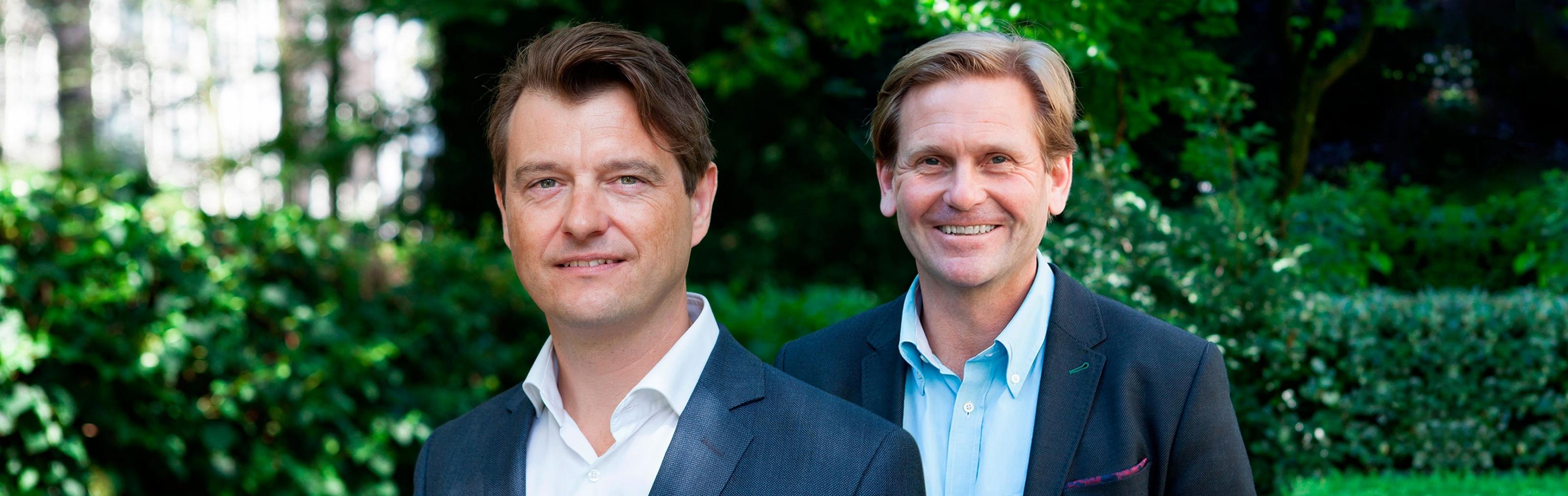 Jorge Oudendijk en Jurgen Jaab