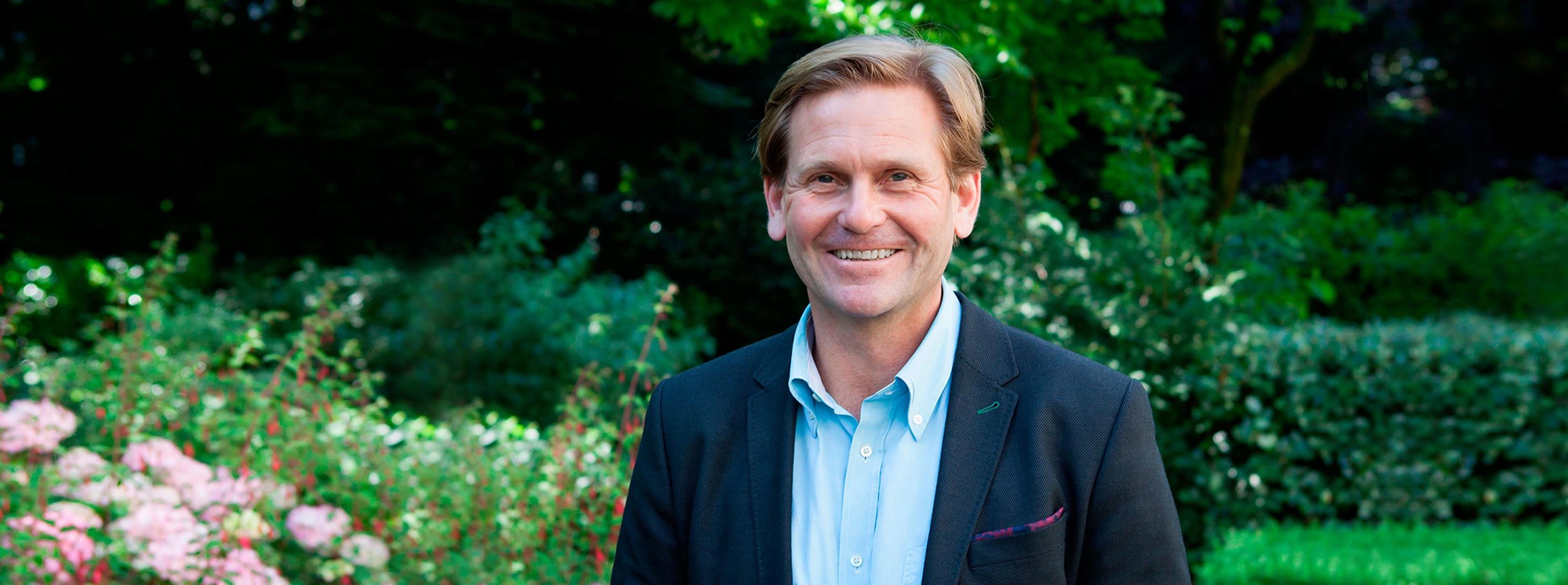 Portrait Jorge Oudendijk from Joren Lawyers, Amsterdam